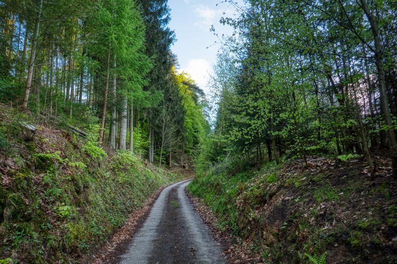 Climb from Prettingen
