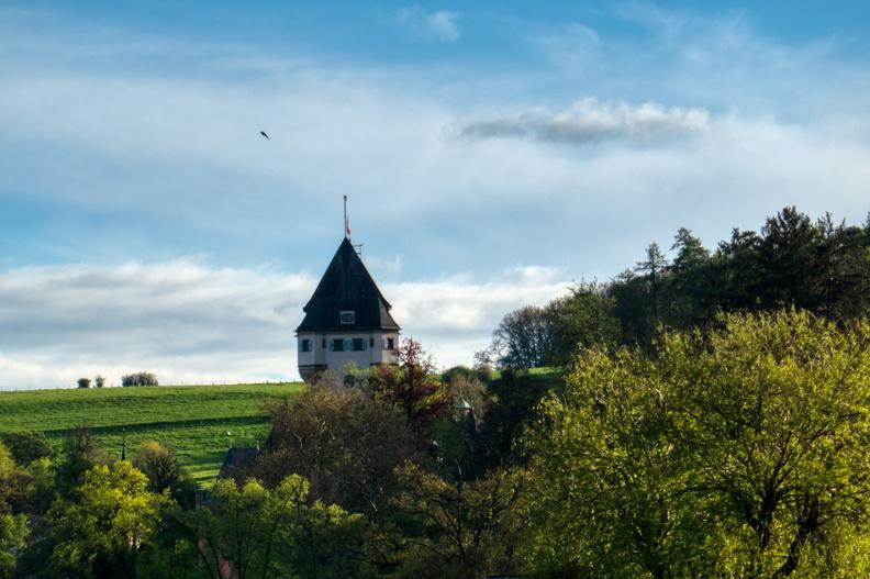 Duke's castle half-masted