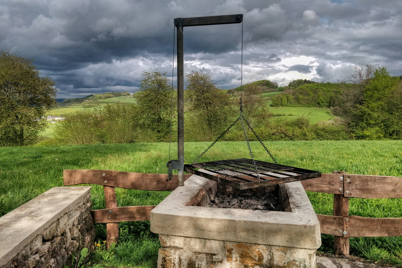 BBQ place near Ermsdorf