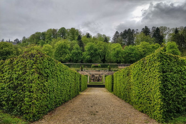 Gardens at New Castle of Ansembourg