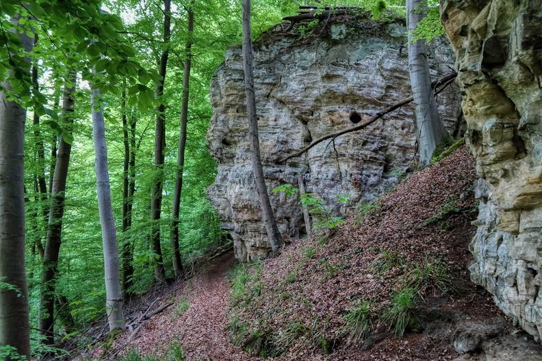 Sentier de la Mamer near Keispelt