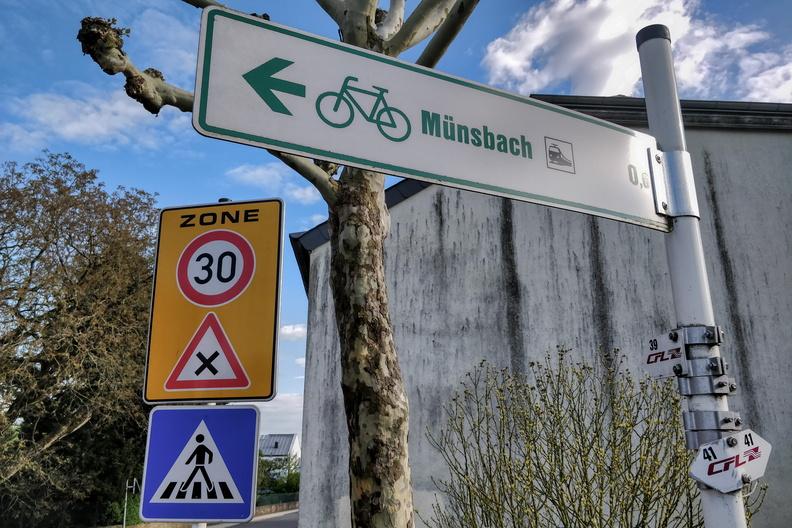 Near Münsbach