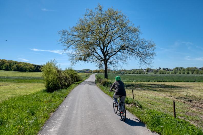 Cycling near Holzem