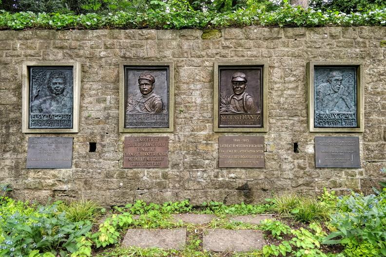 Four champions memorial