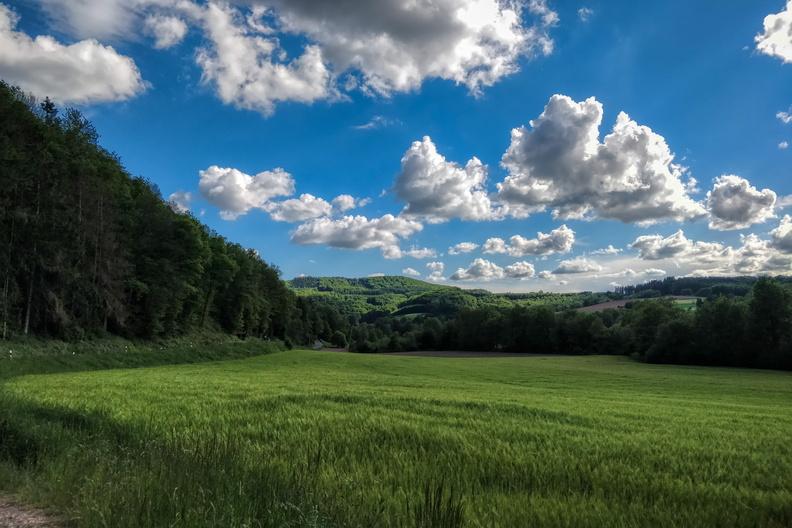 Ourtal near Roth an der Our