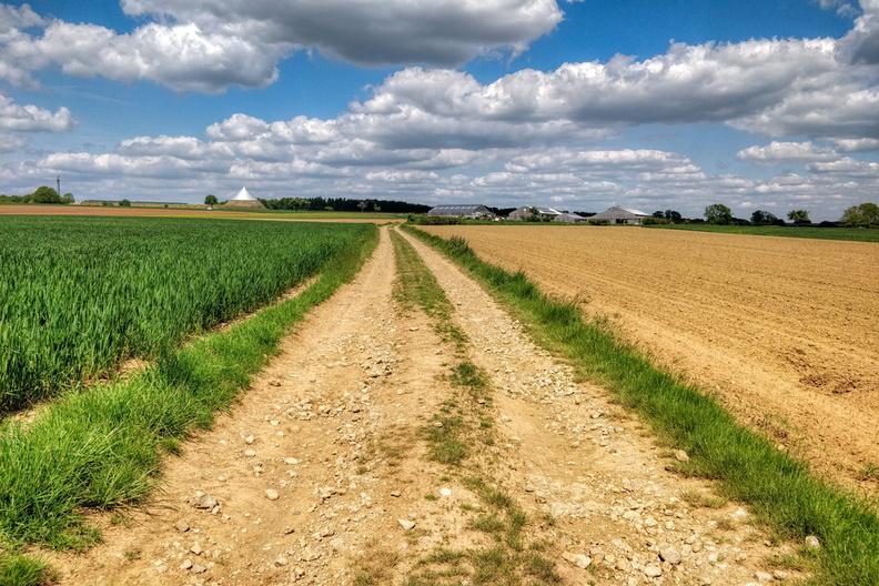 Track near Hivange