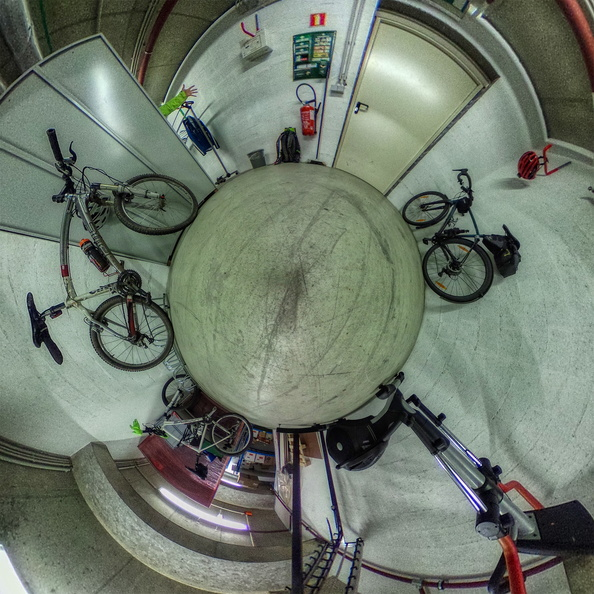 MVOS season in the office basement