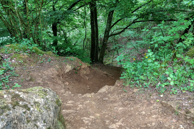 Red MTB track