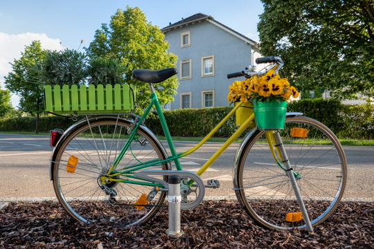 Bike in Goetzingen