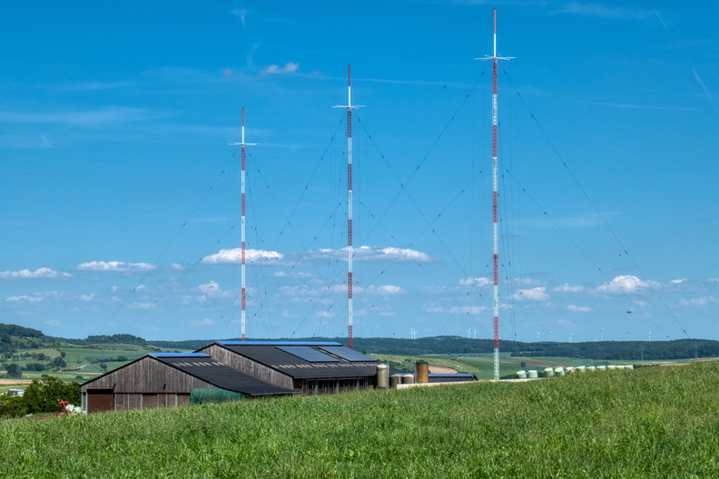Farming and radio transmitter