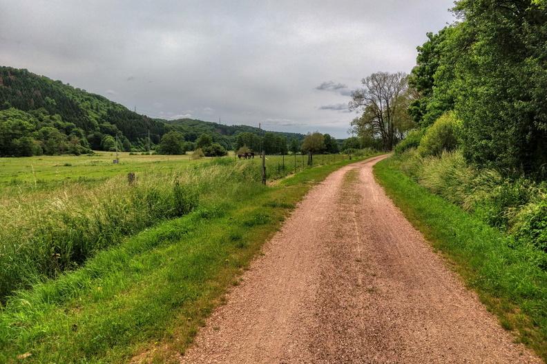 Gravel track