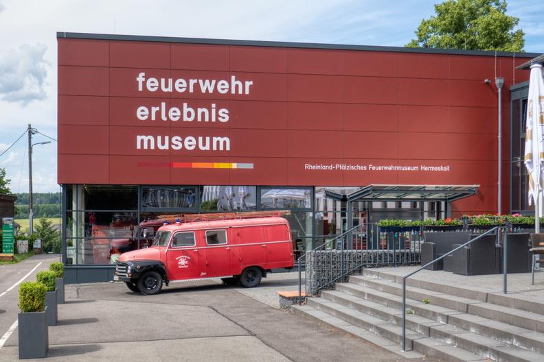 Fire bridage experience museum in Hermeskeil