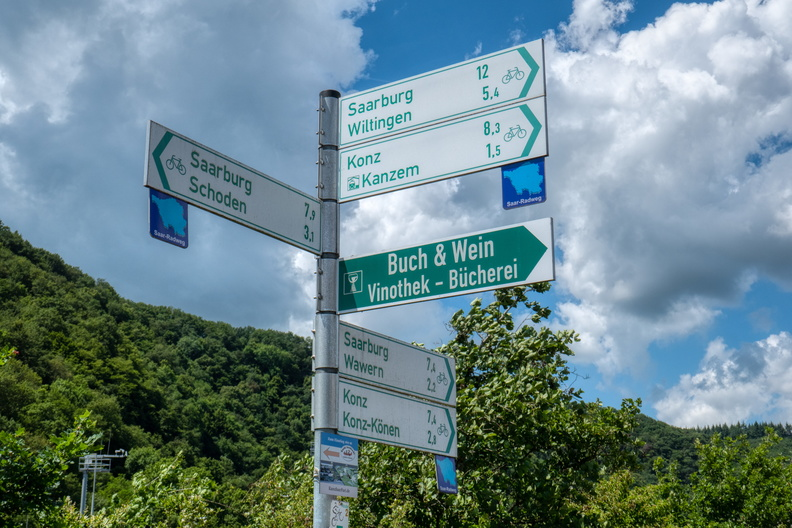 All ways lead to Saarburg