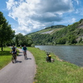 The Saar cycling route