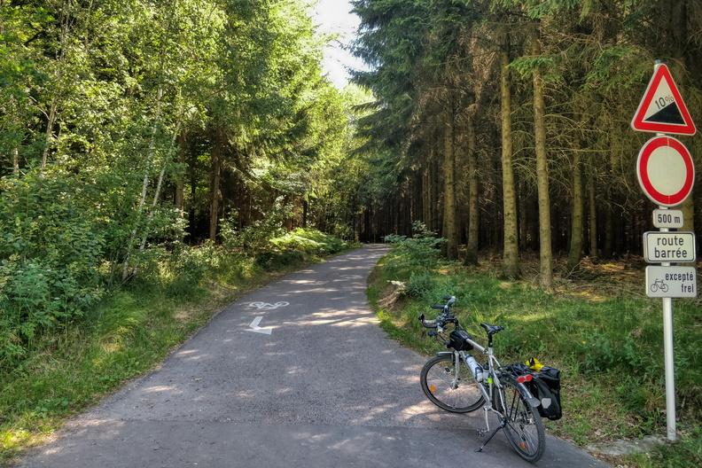 A short climb near Troisvierges