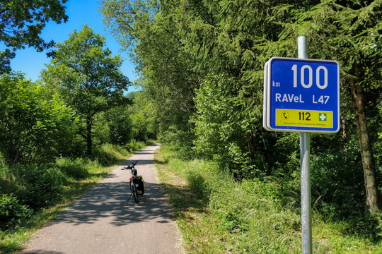 km 100 on Vennbahn