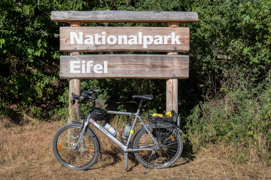 Eifel National Park sign