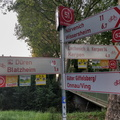Cycling directions in Bergerhausen