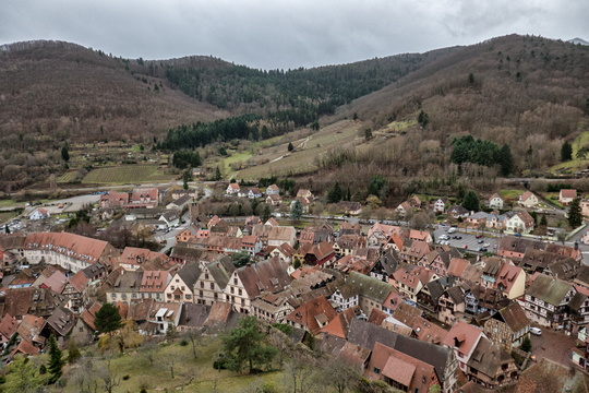 Hiking in Kaysersberg