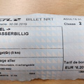Is it the most expensive per kilometre train journey in Europe?