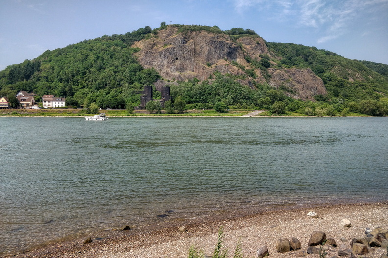 The Rhine near Remagen