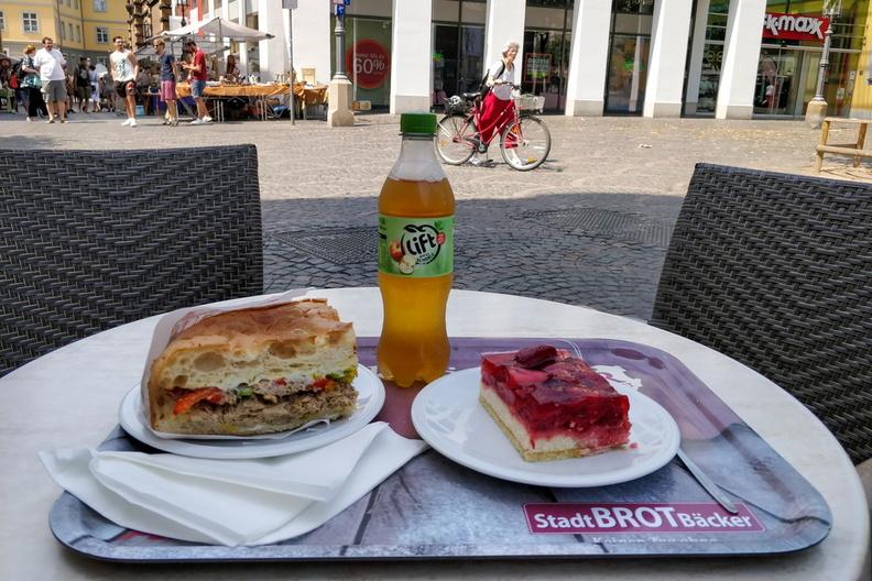 Meal in Bonn