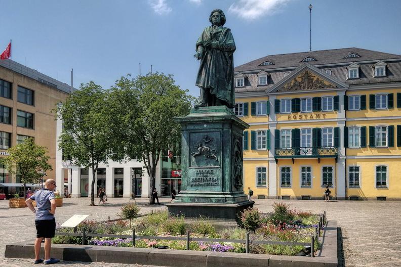 Ludwig Van Beethoven statue in Bonn
