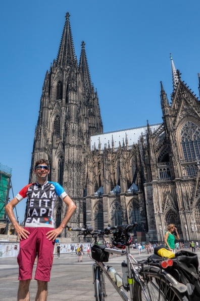 At Cologne's cathedral