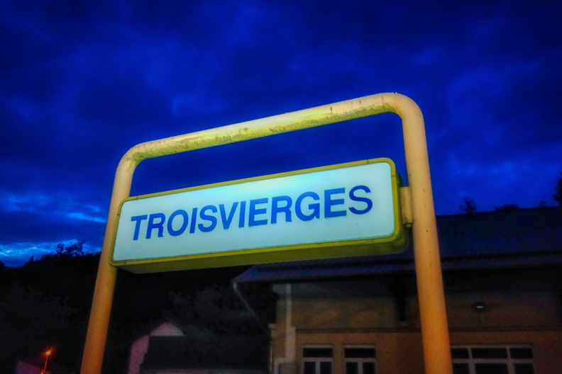 Troisvierges train station