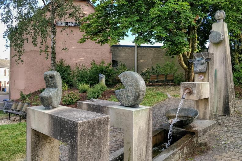 Fountain in Bigonville