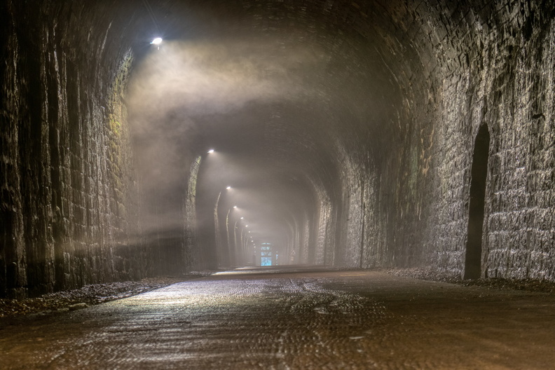 Cold and humid Hobscheid tunnel
