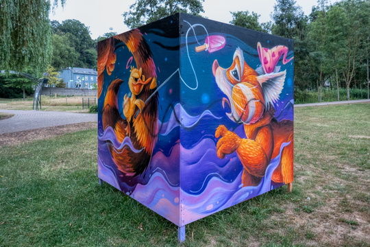Artwork in Hesper Park