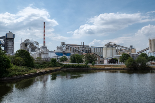 Industry near Laneuveville-devant-Nancy