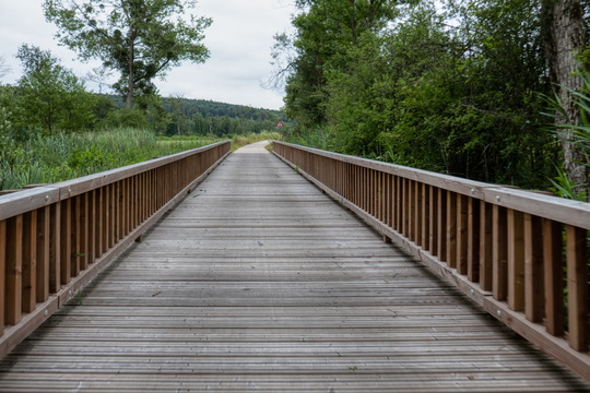 Wooden bridge on PC 5
