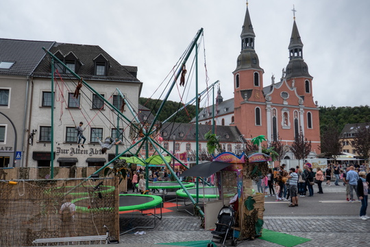 Small funfair in Prüm