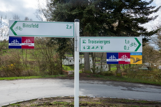 Cycling directions in Troisvierges