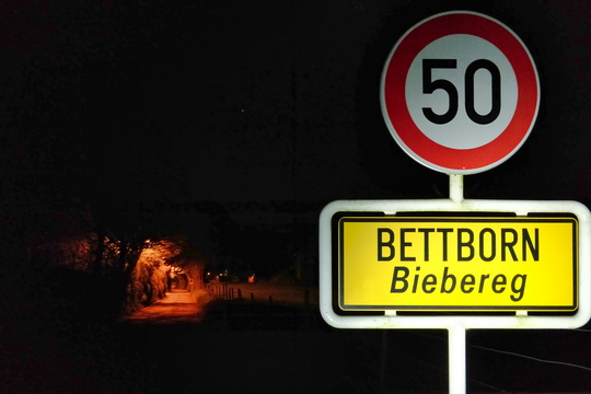 Bettborn by night
