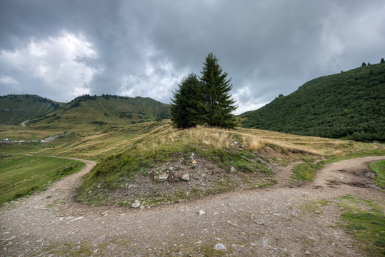 Track between Joux Plane and Mapellet