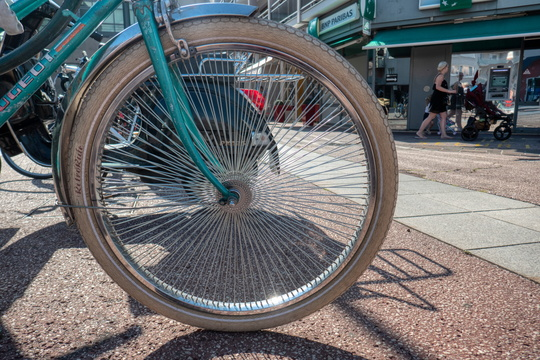 So many spokes!