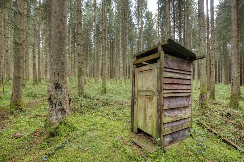 Hike sentier des passeurs (bathroom?)
