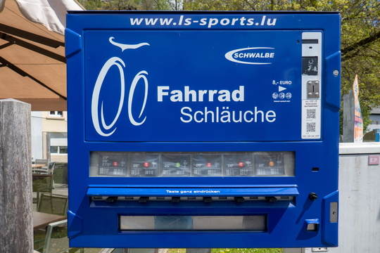 Inner tube vending machine