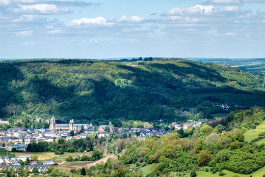 Viewpoint to Echternach