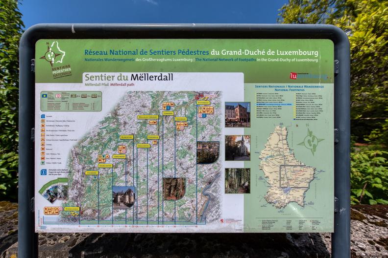 Sentier du Mëllerdall map