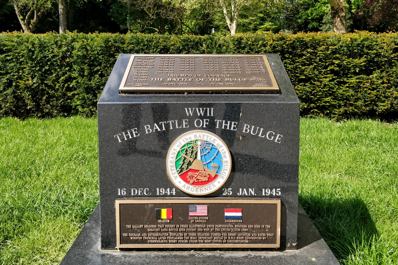 The Battle of the Budge memorial