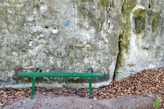 Bench on Sentier de l'Alzette
