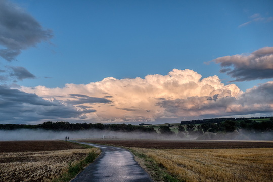 Kehlen just after the thunderstorm