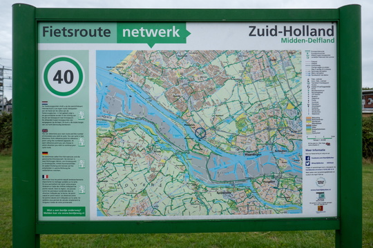 Cycling nodal network in Maassluis