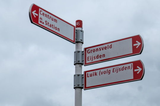 Cycling directions in Maastricht