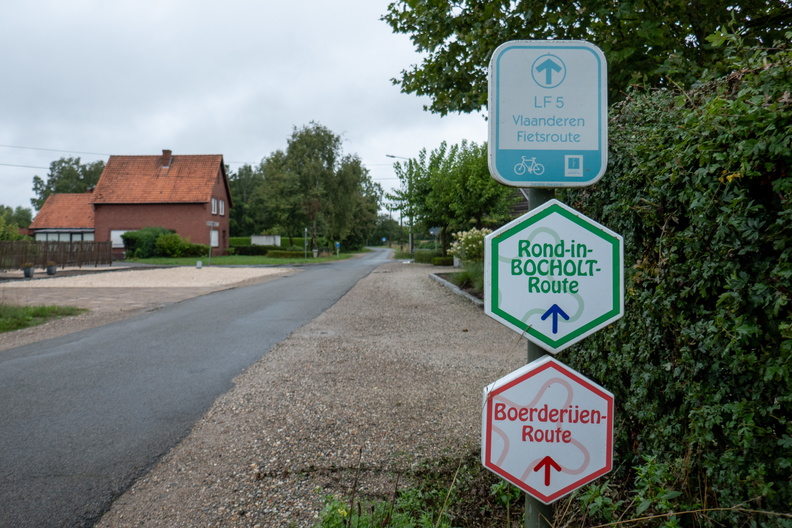 Cycling routes in Flanders