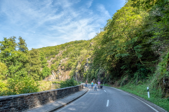 Sauertal free of cars today